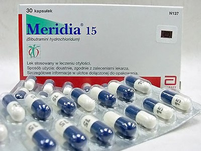 Меридиа таблетки для похудения * Отзывы и цена в аптеке