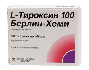 L-тироксин - средство для похудения