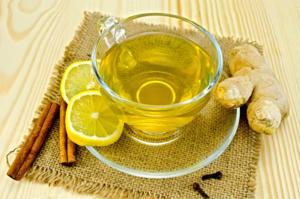 Рецепт приготовления зелёного дренажного чая
