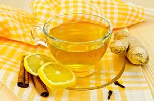 Способ приготовления чая с имбирём для похудения
