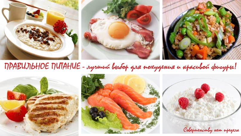 вкусное пп меню на неделю для похудения