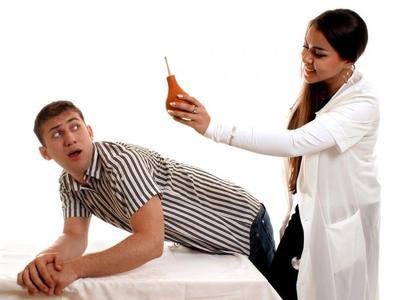 Микроклизма с ромашкой — Боль в кишках
