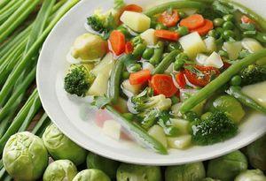 Ужин из овощей - низкокалорийная диета