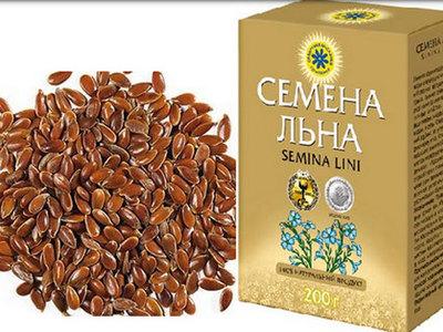 Льняные зерна для похудения