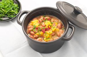 Тыквенный суп с фасолью приготовить очень просто