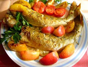 Нежирные сорта рыбы полезны почти при любой диете