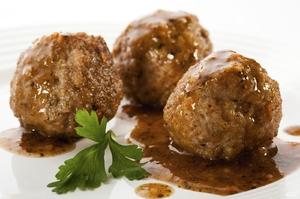 Говяжьи тефтели - вкусное блюдо