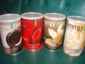 Коктейли и напитки энержди диет