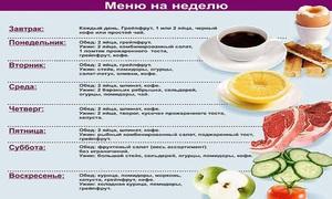Как и чем питаться для похудения  правильное питание и меню на ... 6cef89f8373