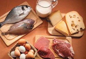 Белково углеводная диета: таблица пищевой ценности продуктов, меню для похудения на каждый день и неделю