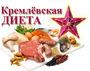 Кремлевская диета этапы