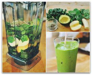 овощные коктейли для похудения рецепты