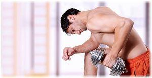 Тренировка дома с гантелями для мужчин