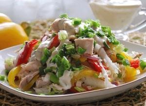 Диетические рецепты салатов