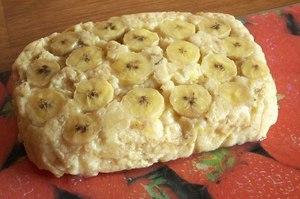 запеканка с бананами