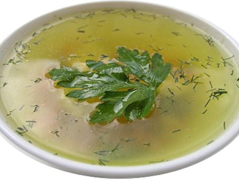 овощной суп для похудения рецепт на курином бульоне