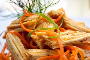 соевая спаржа по-корейски калорийность