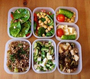 здоровое питание завтрак обед ужин