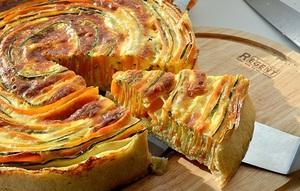 Практически любой овощной пирог станет помощником во время диеты