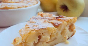 Творожная запеканка с яблоками и другими фруктами - вкусно и полезно