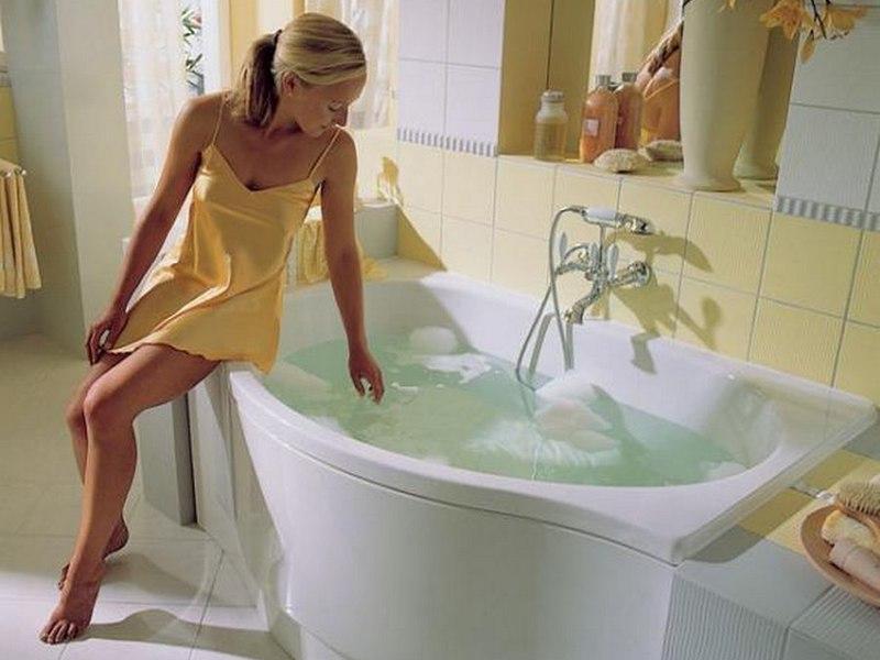 Чем опасна горячая ванна для беременных 1085