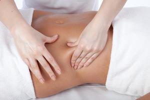 Медовый массаж для живота